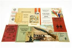 13Pcs Vintage and Antique MILITARY AND FIREARMS