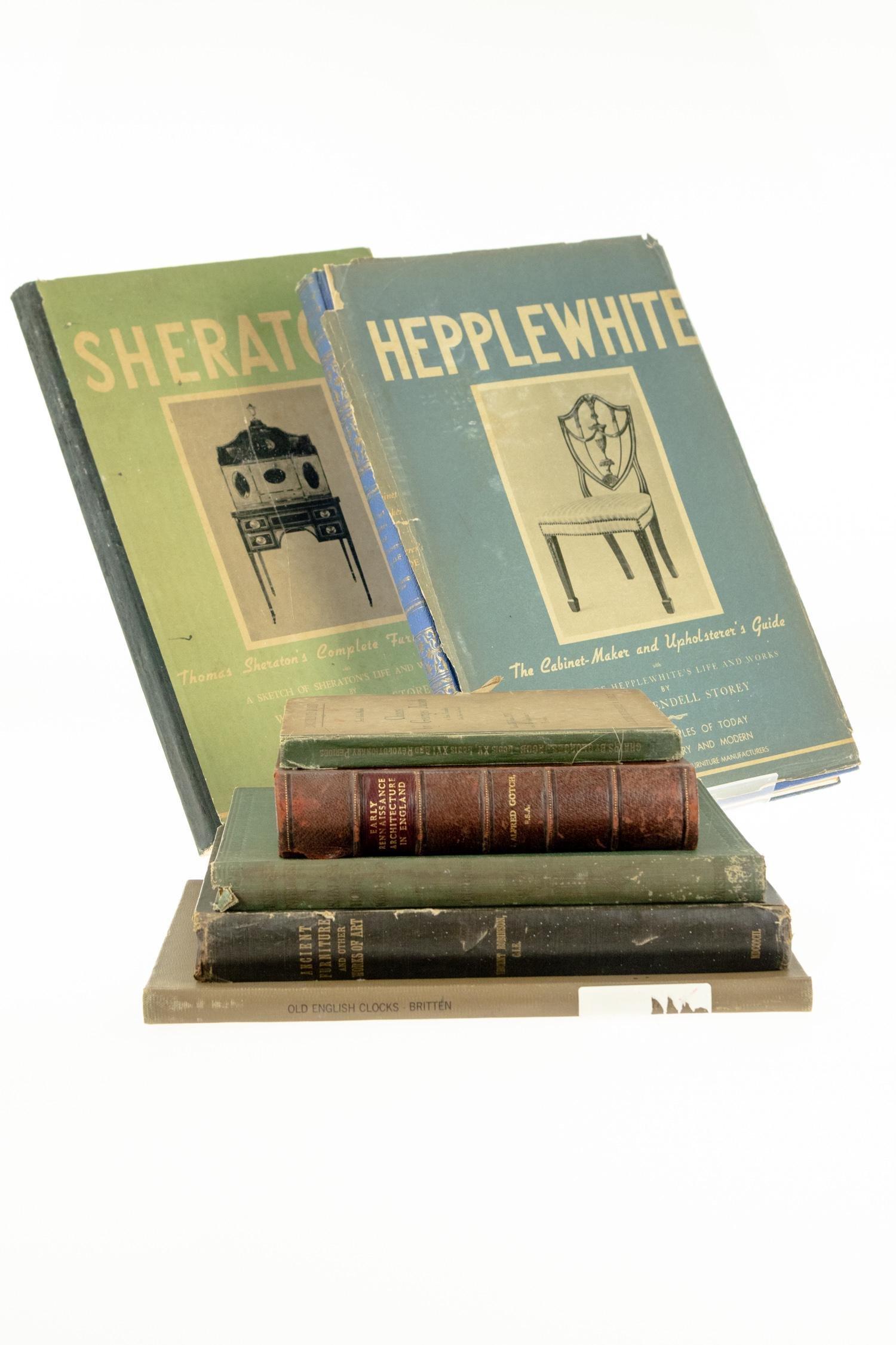 7V ANTIQUE HISTORY OF FURNITURE Folios Decorative
