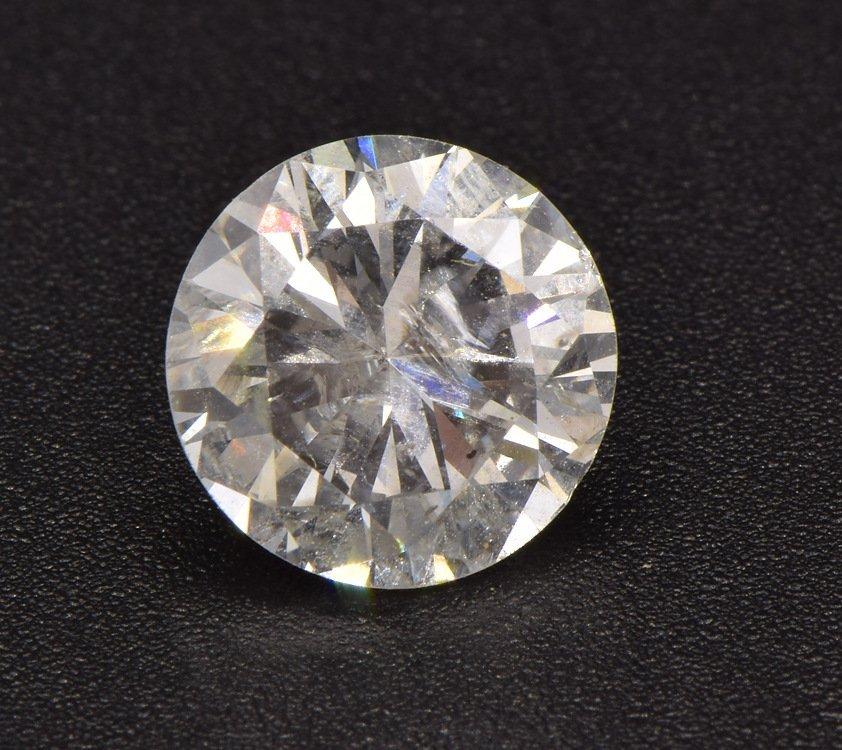 GIA Certified ROUND BRILLIANT LOOSE WHITE DIAMOND Two