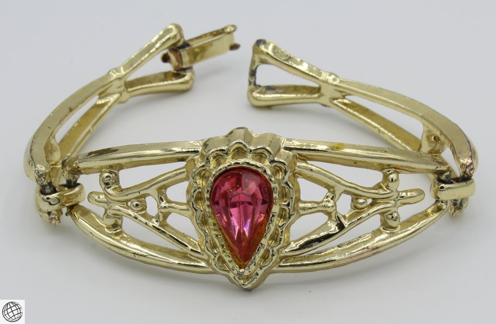 10Pcs Costume Jewelry VINTAGE BRACELETS Cuff Link - 2