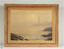 Portland Head Light JOSEF M. ARENTZ Original Signed Oil