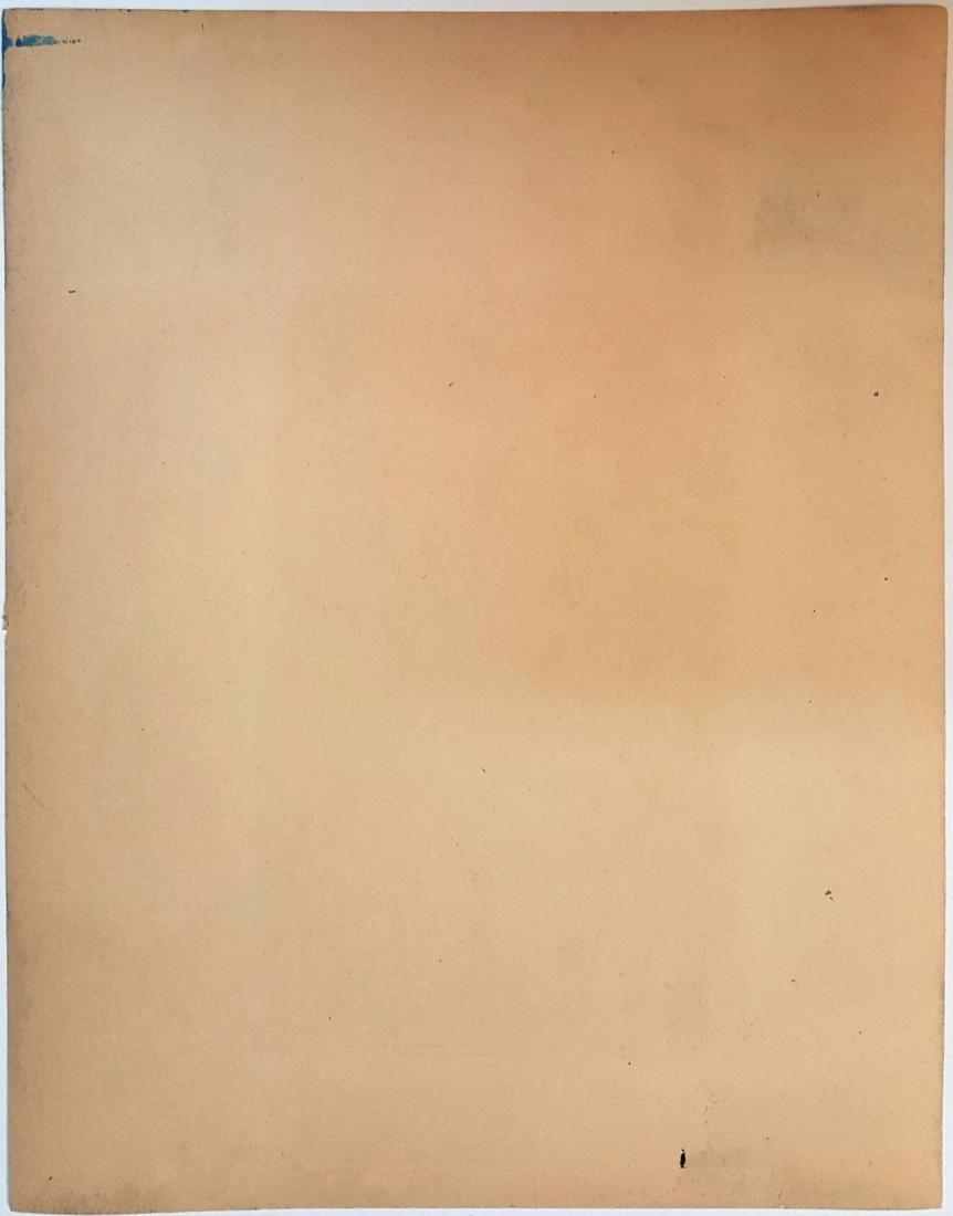 Piet Mondriaan gauche on paper, signed painting - 2