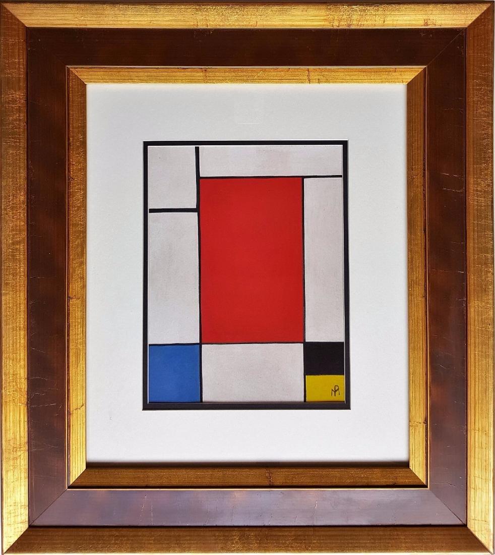 Piet Mondriaan gauche on paper, signed painting - 3