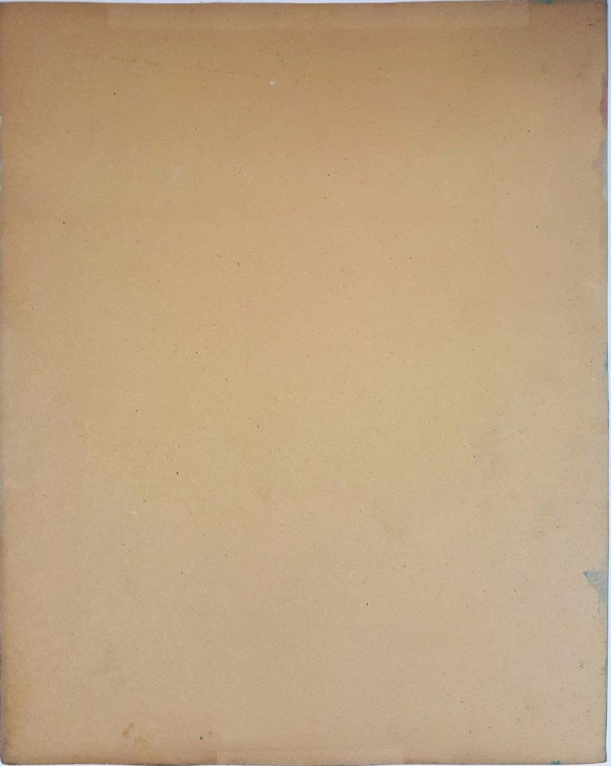 Mark ROTHKO watercolor on paper signed painting - 3