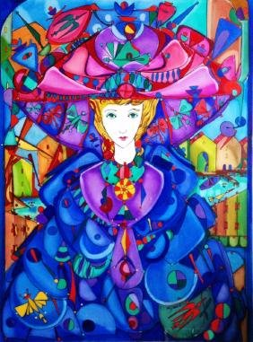 Jose Maria Mijares.Oil on Canvas. COA