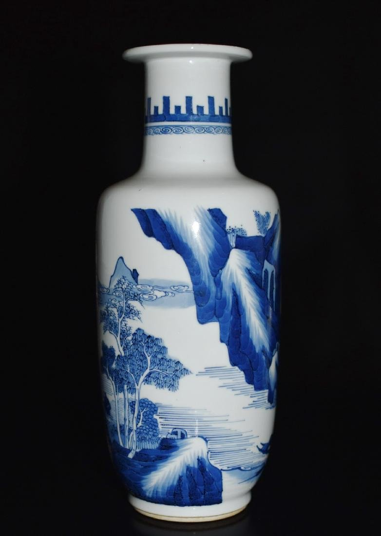 A BLUE AND WHITE VASE, CHENGHUA MARK - 2