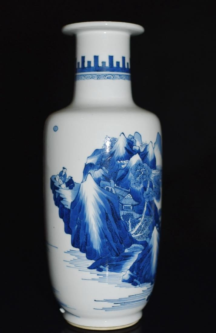 A BLUE AND WHITE VASE, CHENGHUA MARK - 3