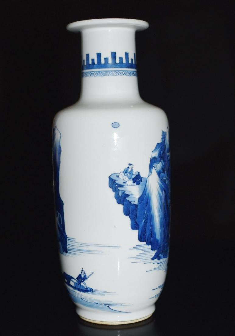 A BLUE AND WHITE VASE, CHENGHUA MARK - 6