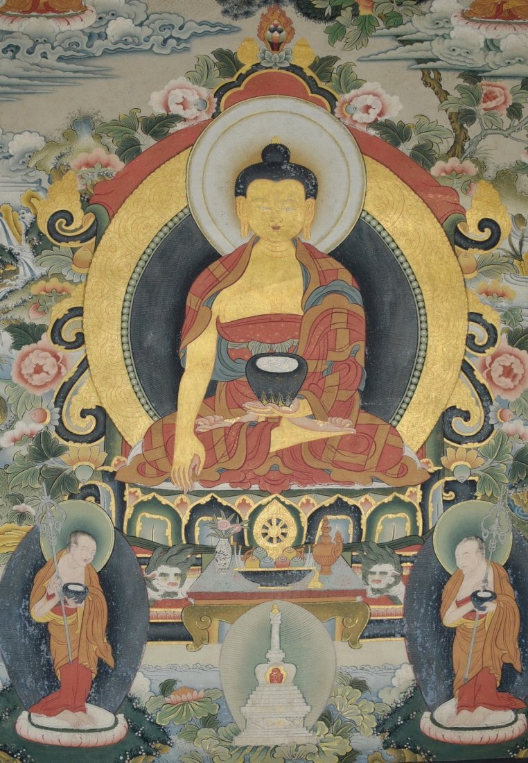 A TANGKA OF BUDDHA