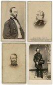 CIVIL WAR GENERALS: SHERMAN, KEARNY, COX, LYON