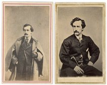 JOHN WILKES BOOTH, LINCOLN ASSASSIN, ACTOR
