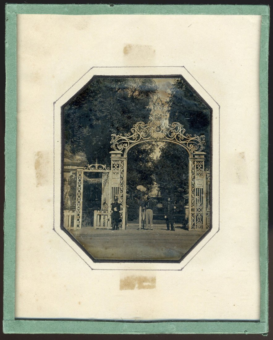 GATE TO THE PARIS EXPOSITION