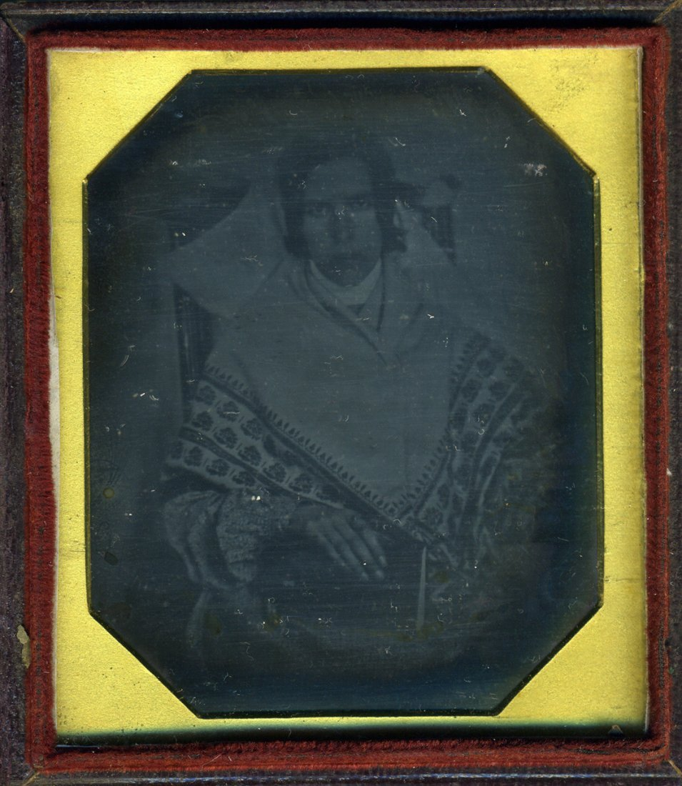 RARE DAGUERREOTYPE FROM THE DAWN OF PHOTOGRAPHY