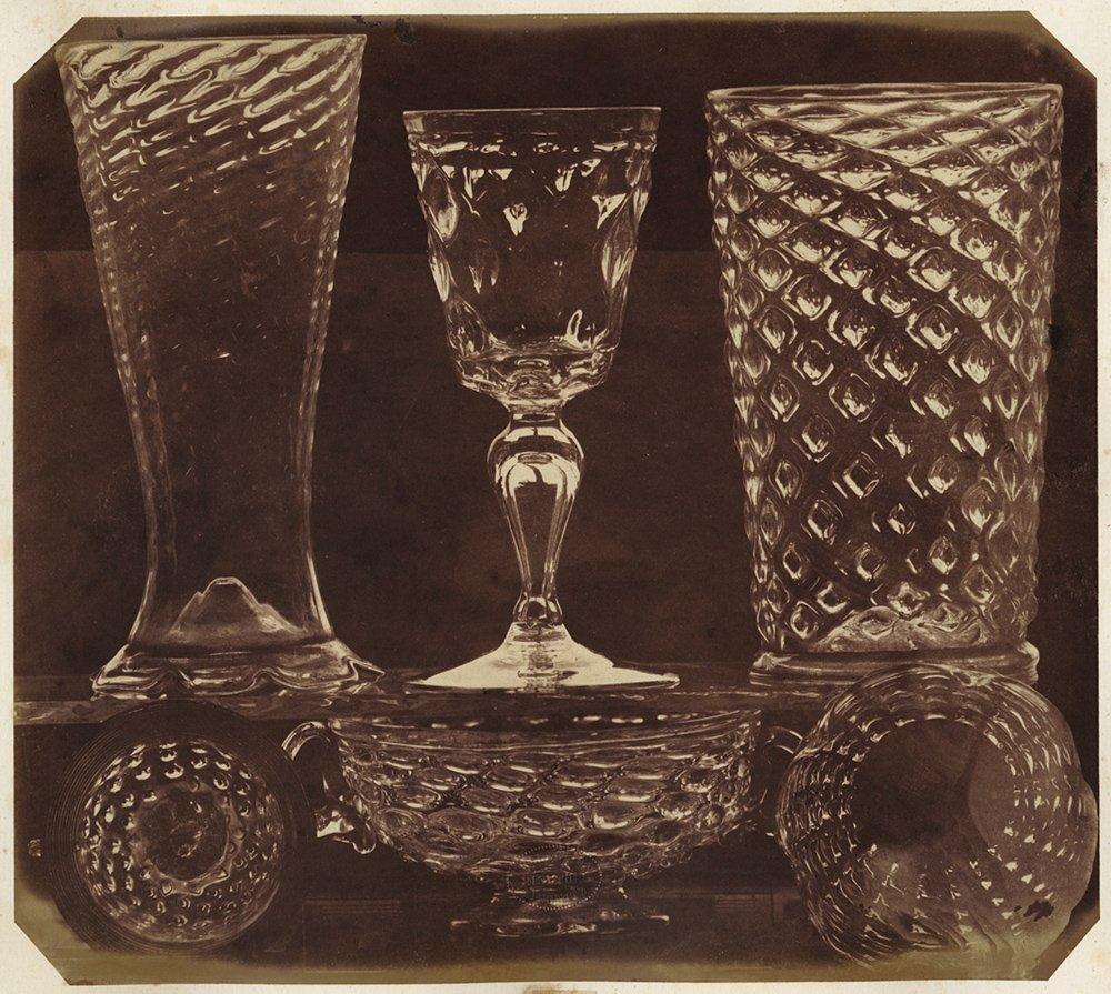 LUDWIG BELITSKI, PATTERN GLASSWARE, SALT PRINT