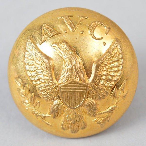 Non-Excvtd. Alabama Volunteer Corps Coat Size Button
