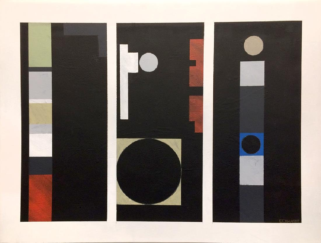 Charles Eckhardt - Untitled (Geometric Abstract)