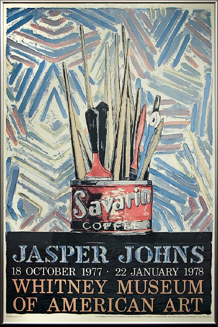 Jasper Johns - Jasper Johns Exhibition, Whitney Museum