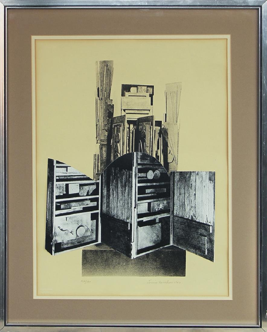 Louise Nevelson (1899-1988) - Untitled