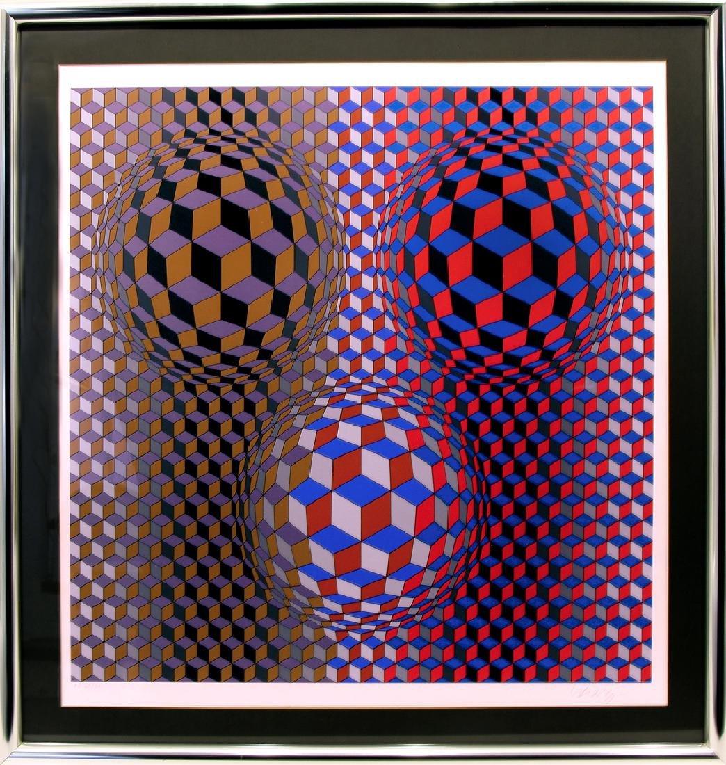 Victor Vasarely (1906-1997) - Trivar
