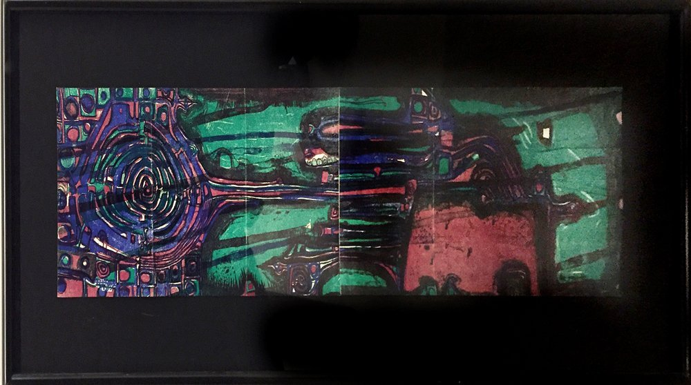 Friedensreich Hundertwasser (1928-2000) - Flight of the