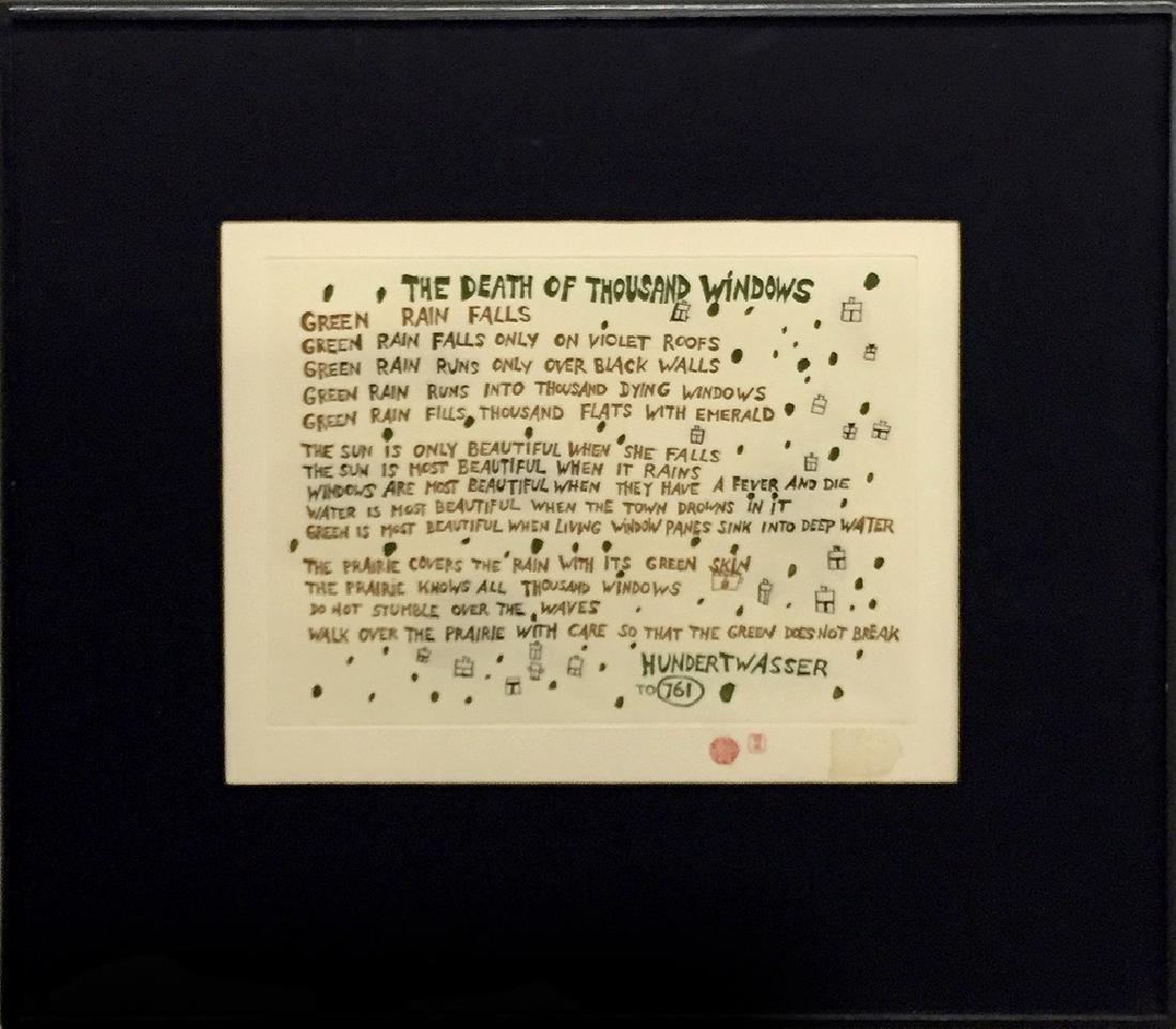 Friedensreich Hundertwasser (1928-2000) - Take Care