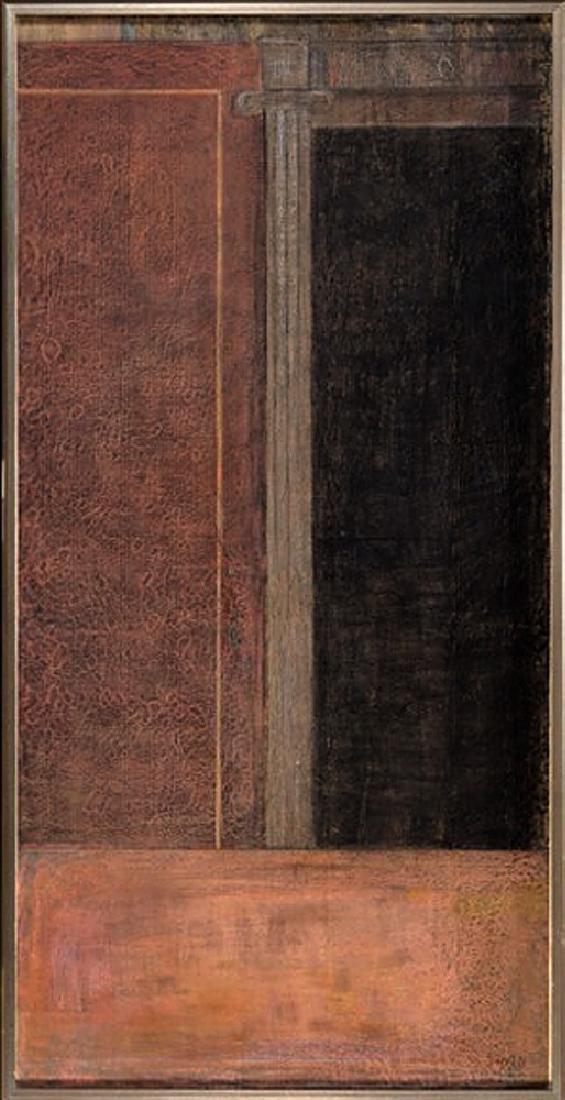 Eduard Angeli (b. 1942) - Iconic Column