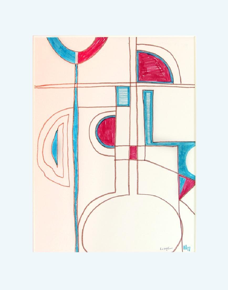 William Lumpkins (1909-2000) - Maze (FP53)