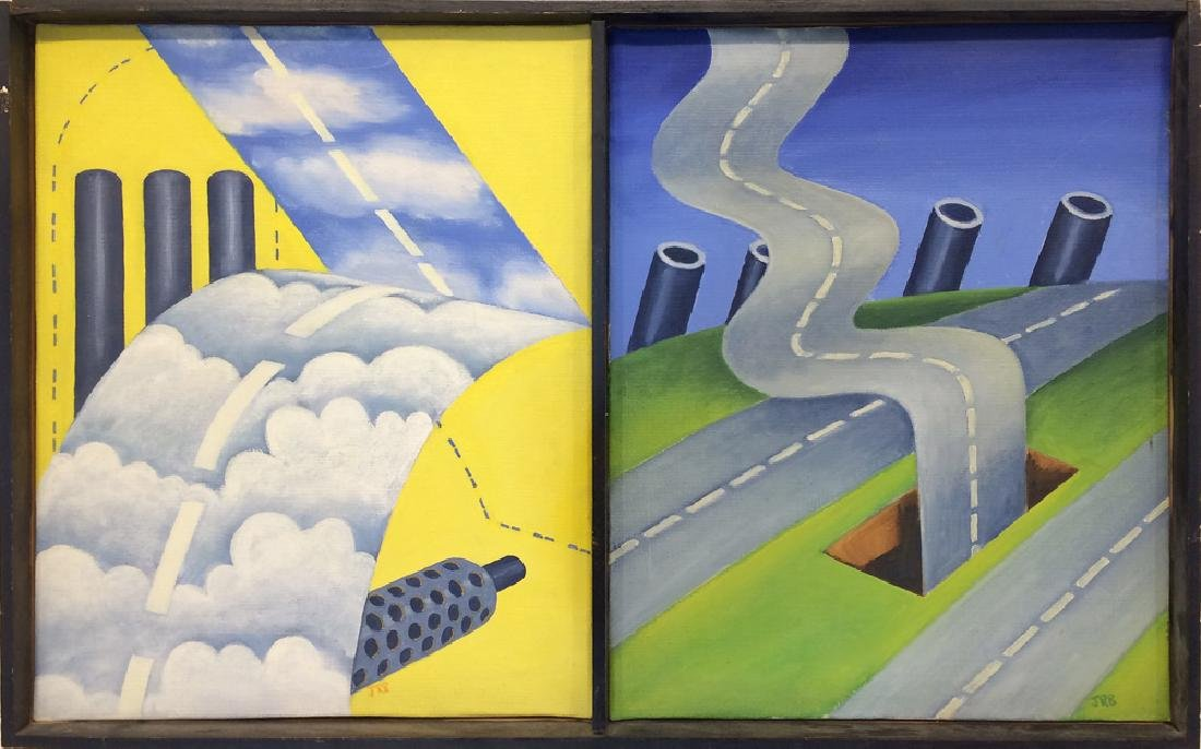 Roger Brown (1941-1997) - Untitled