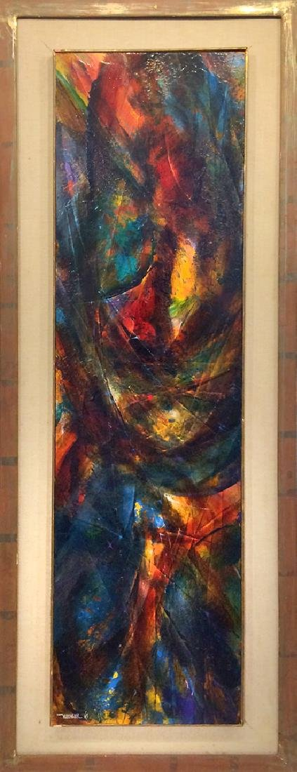 Leonardo Nierman (b. 1932) - Untitled (Abstract)