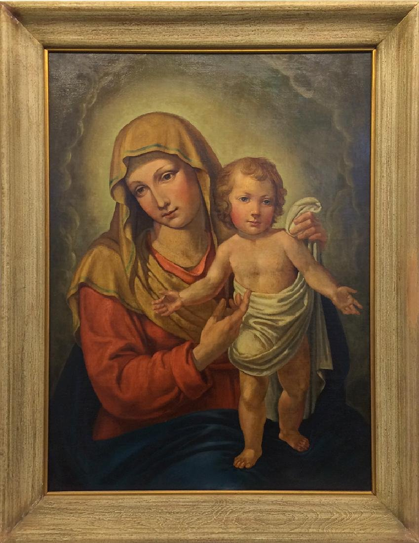 Unknown Artist - Untitled (Madonna and Child)