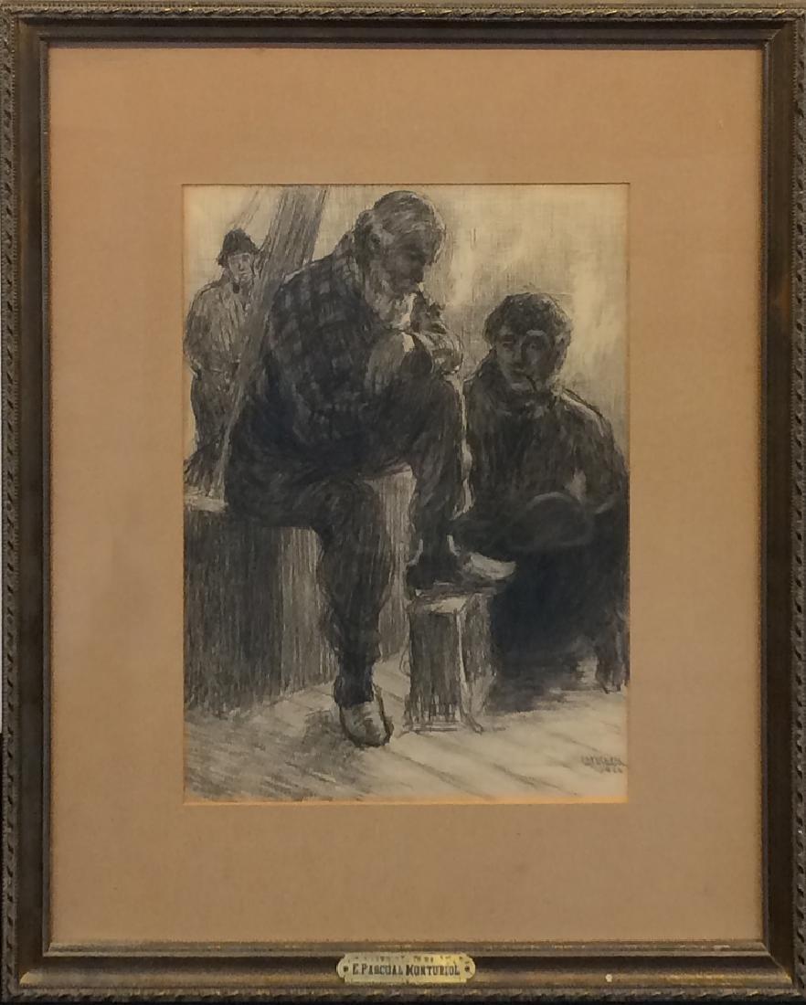 Enrique Pascual Monturiol (1886-1933) - Untitled (Man