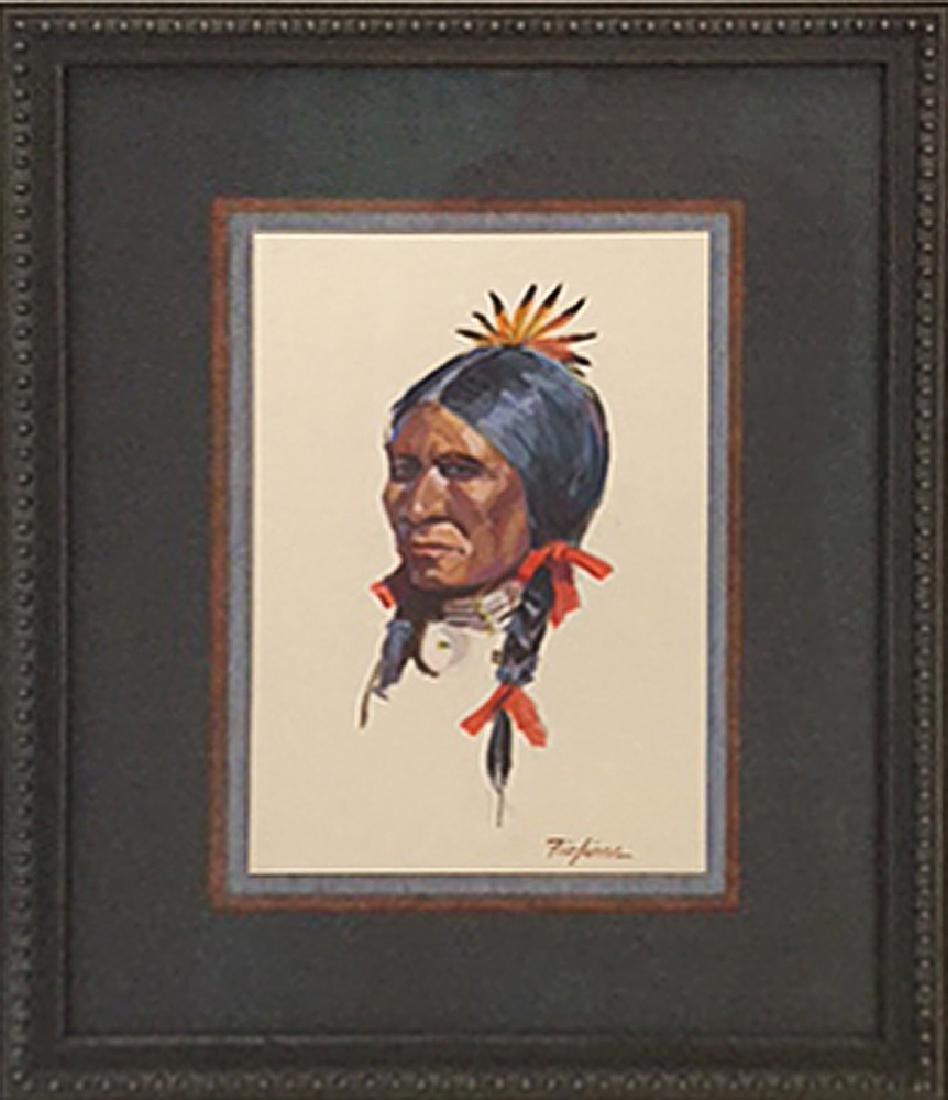 Nicholas Firfires (1917-1990) - Indian Warrior