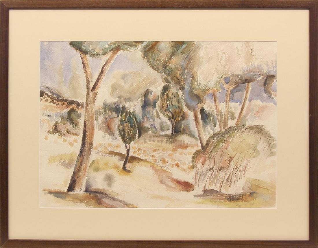 William Lumpkins (1909-2000) - Untitled (Modernist
