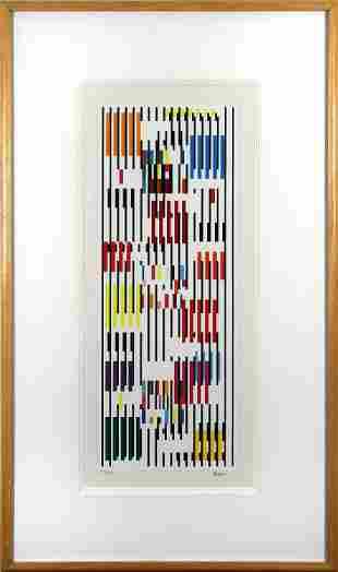 Yaacov Agam, Untitled (Tapestry)