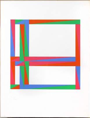 Max Bill, Untitled (Geometric Abstract)