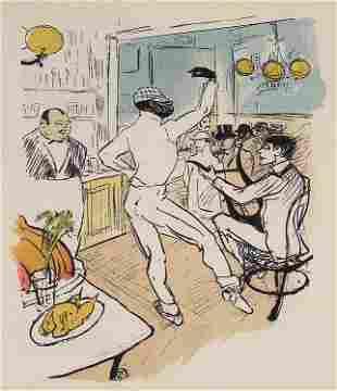 Henri de Toulouse-Lautrec, Chocolat Dansant dans un Bar