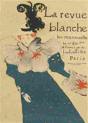 Henri de Toulouse-Lautrec, Le Revue Blanche (Poster)
