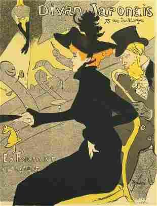 Henri de Toulouse-Lautrec, Divan Japonais (Poster)