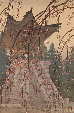 Toshi Yoshida, Heirinji, Temple Bell