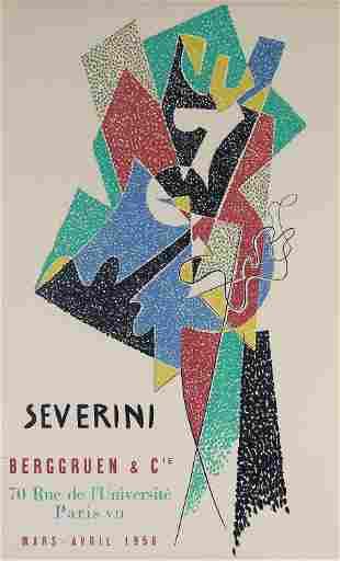 Gino Severini, Severini Berggruen & Cie (Exhibition