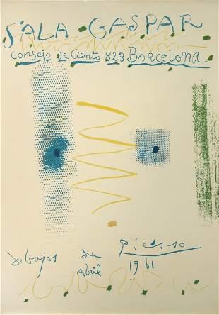 Pablo Picasso, Sala Gaspar (Exhibition Poster)
