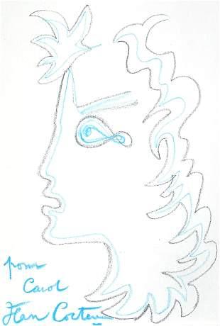 Jean Cocteau, Untitled (for Carol)
