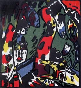 Wassily Kandinsky, The Archer (Bogensch�tze)