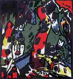 Wassily Kandinsky, The Archer (Bogenschütze)