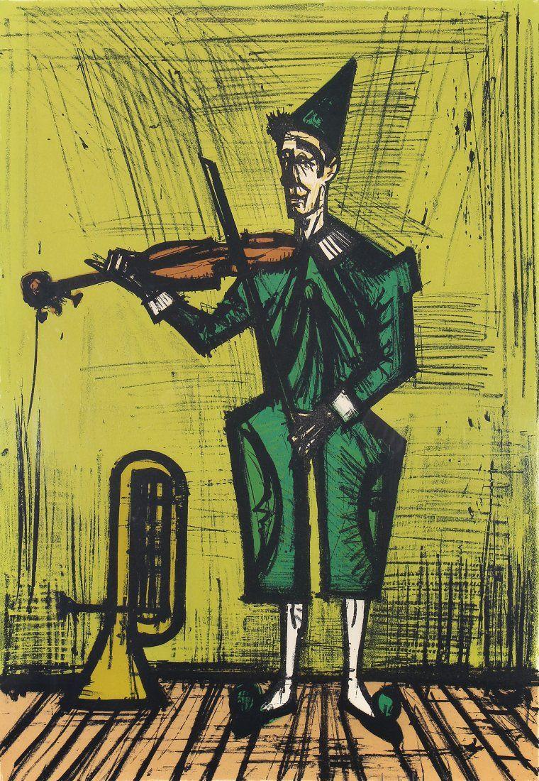 Bernard Buffet, Le Violiniste