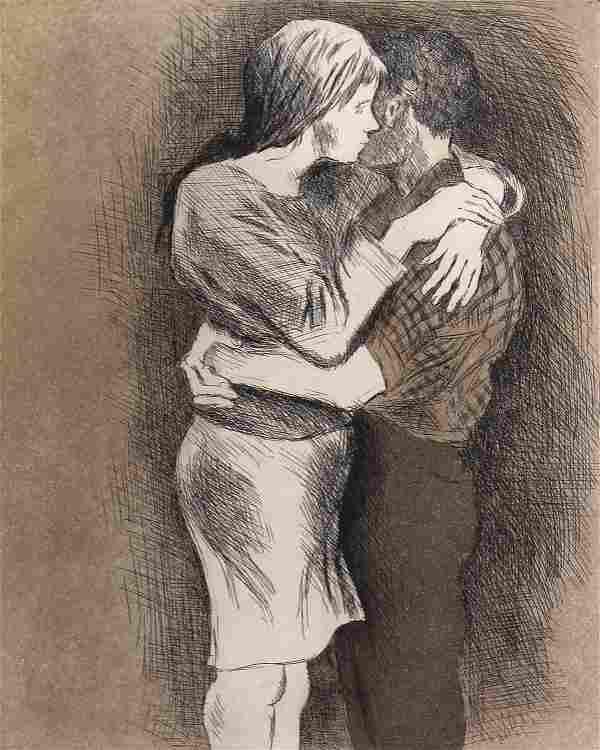 Raphael Soyer, Embrace