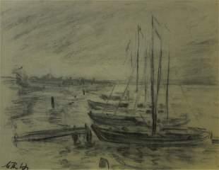 Max Thalmann, Untitled (Sailboats)