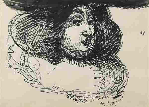 Henry Somm, Untitled (Portrait)