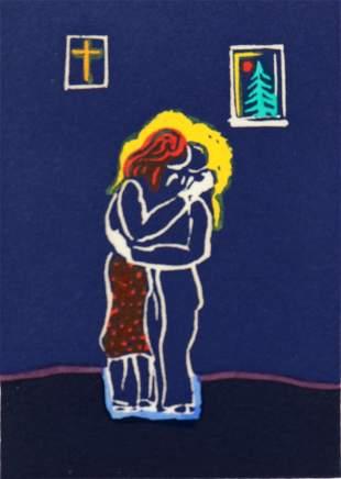 Hans Gustav Burkhardt, Untitled (Embrace)