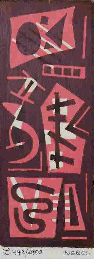 Otto Nebel, L. 442/1950